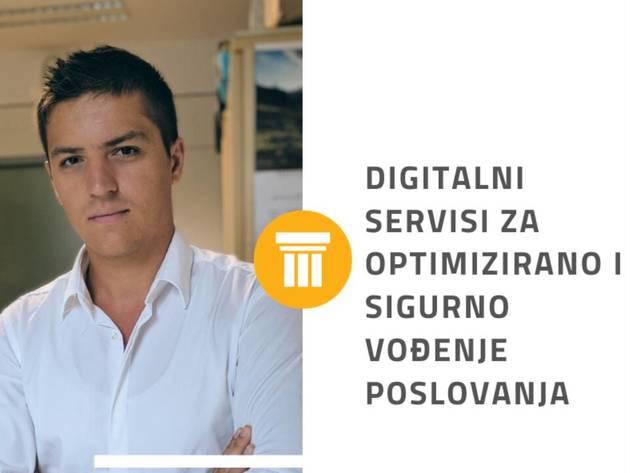 Tarik Begluk, stručni saradnik za prodaju u BH Telecomu - Digitalni servisi za optimizirano i sigurno vođenje poslovanja