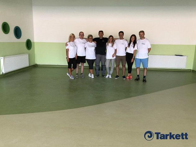 Kompanija Tarkett podržala Fondaciju Novak Đoković u rekonstrukciji dečijeg vrtića u Svilajncu