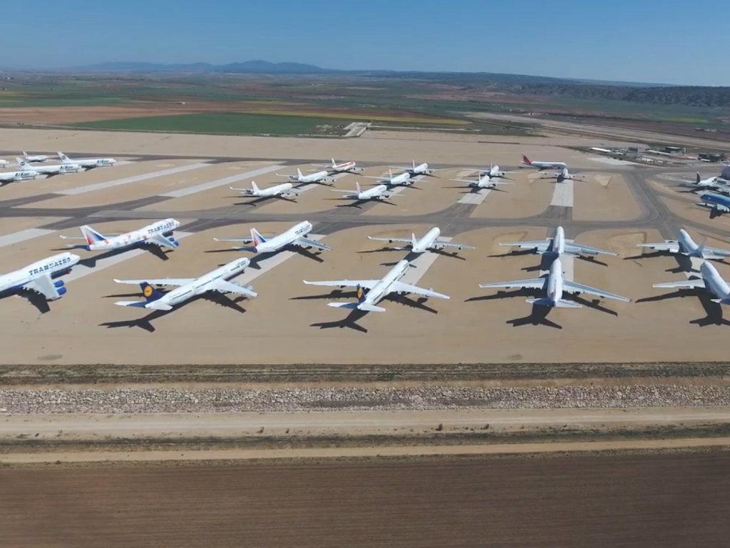 Parking za avione postao unosan posao - Zbog koronavirusa biznis procvjetao