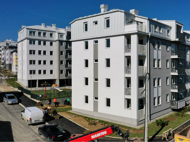 Construction of apartments in Vranje