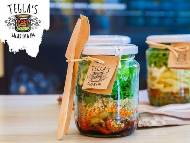 Healthy meal in a jar - Tegla's salads from Novi Sad want to go to Europe