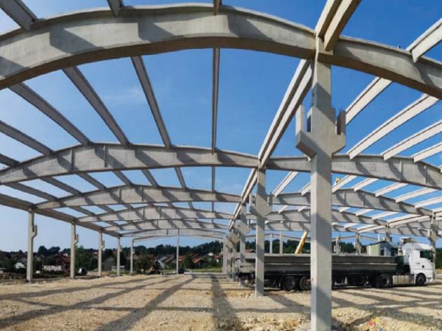 Koje su prednosti montažne gradnje - Kompanija G.T.D. Tehna Gračanica više od dvije decenije lider u izradi i montaži armiranobetonskih konstrukcija