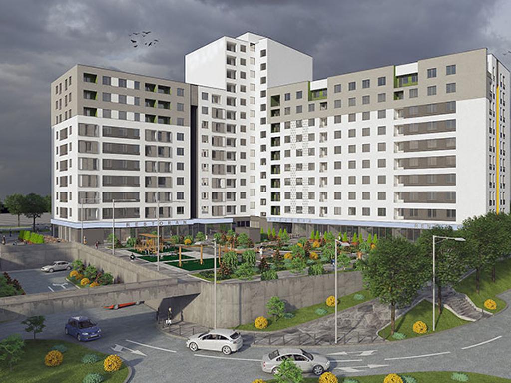 Tehnograd gradi stambeno-poslovni kompleks na Stupinama - Zavšetak radova 2023. (FOTO)