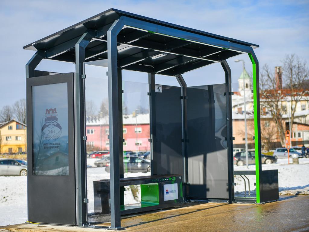 Nakon solarne klupe Telemax proizveo i pametno autobusko stajalište u okviru City Gecko brenda