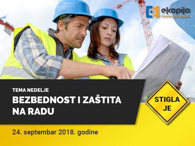 Sicherheit und Gesundheitsschutz am Arbeitsplatz - Wir stellen Ihnen neues Thema der Woche von eKapija vor