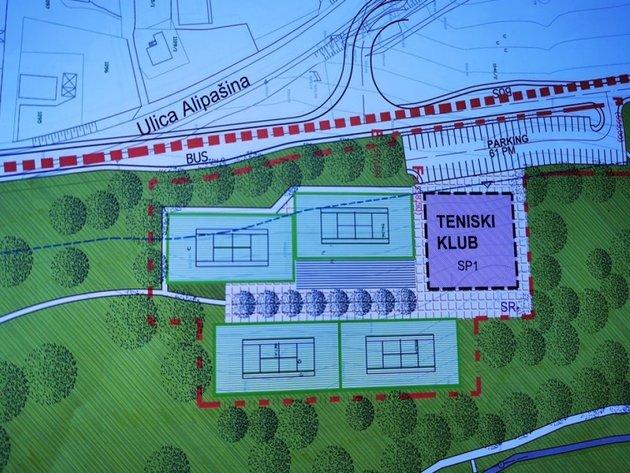 Damiru Džumhuru uručeno pismo namjere i idejni projekat teniskog centra na Betaniji
