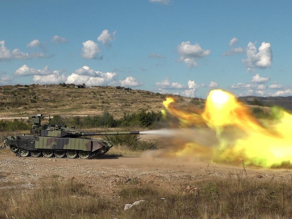 Modernizovani tenk M-84 AS1 pokazao dobre ideje naših konstruktora