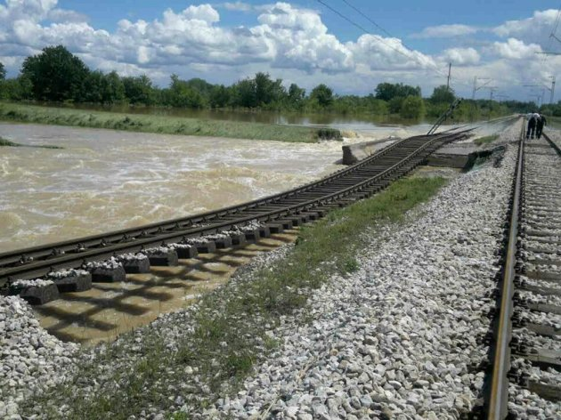 EBRD loan of EUR 30 mil redirected to reconstruction of flooded railway infrastructure
