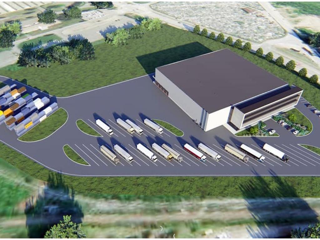 Meridian počeo gradnju robno-carinskog terminala u Banjaluci - Na više od od 6.400 m2 predviđeno savremeno skladište, prostorije carine i kutak za vozače (FOTO/VIDEO)