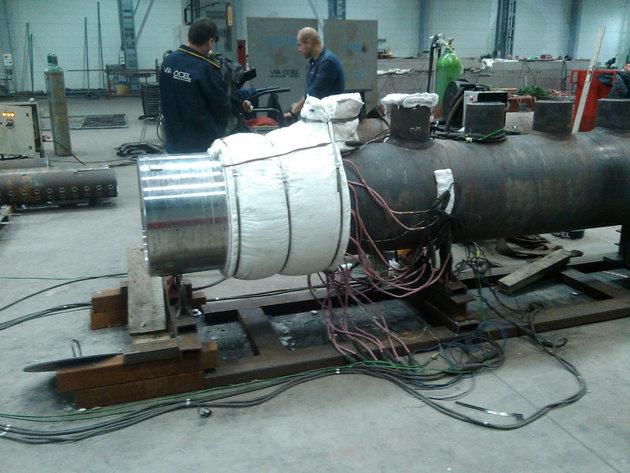 Montažna peć za odžarivanje zavarenih spojeva - Jedinstven proizvod firme Termoproces tražen i u regionu