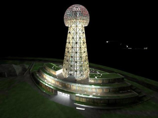 Tesla Tower on Zlatibor