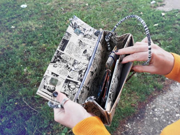 """Torbe i novčanici od tetrapaka obučeni u stripove - """"Apciklažom"""" do modnih detalja"""