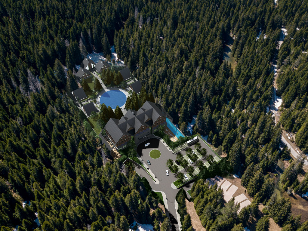 Na Žabljaku će se graditi luksuzni rizort The Chedi vrijedan 10,6 mil EUR - Kompleks sa  hotelom, sedam vila i otvorenim grijanim bazenima biće gotov do kraja 2022. (FOTO)