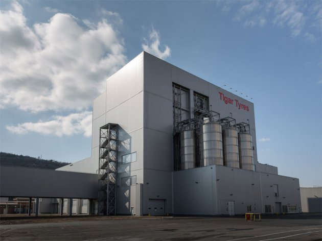 Tigar Tyres opens new mixing department in Pirot - Investment cycle of EUR 215 m ends
