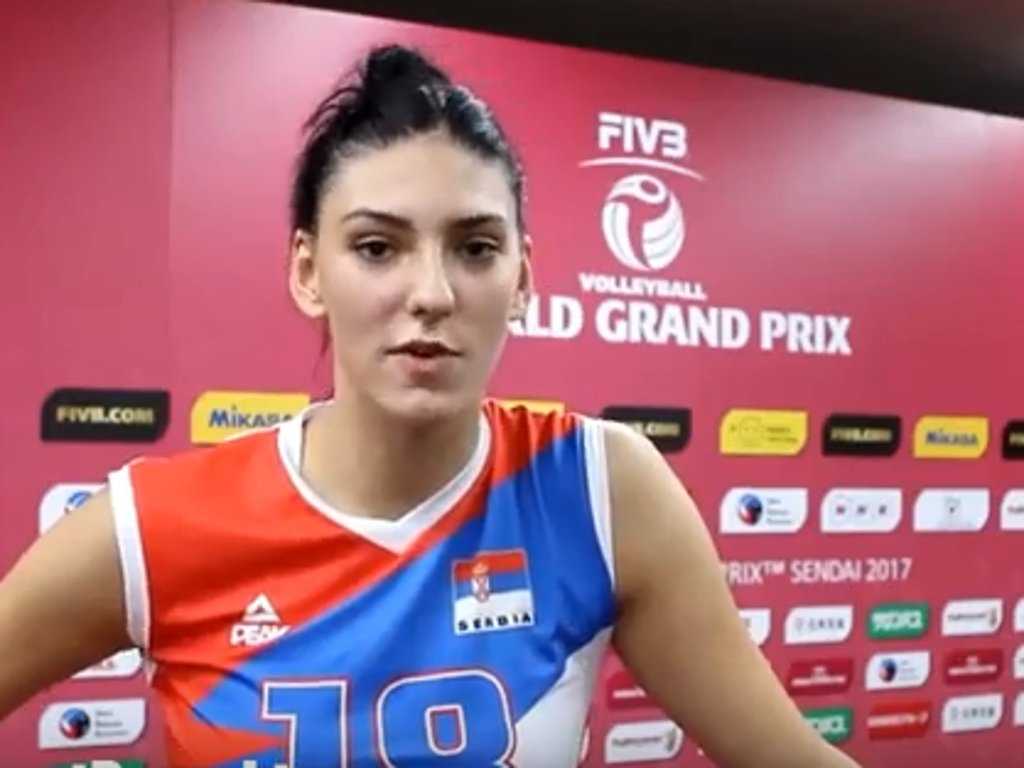 Tijana Boskovic best volleyball player in Europe