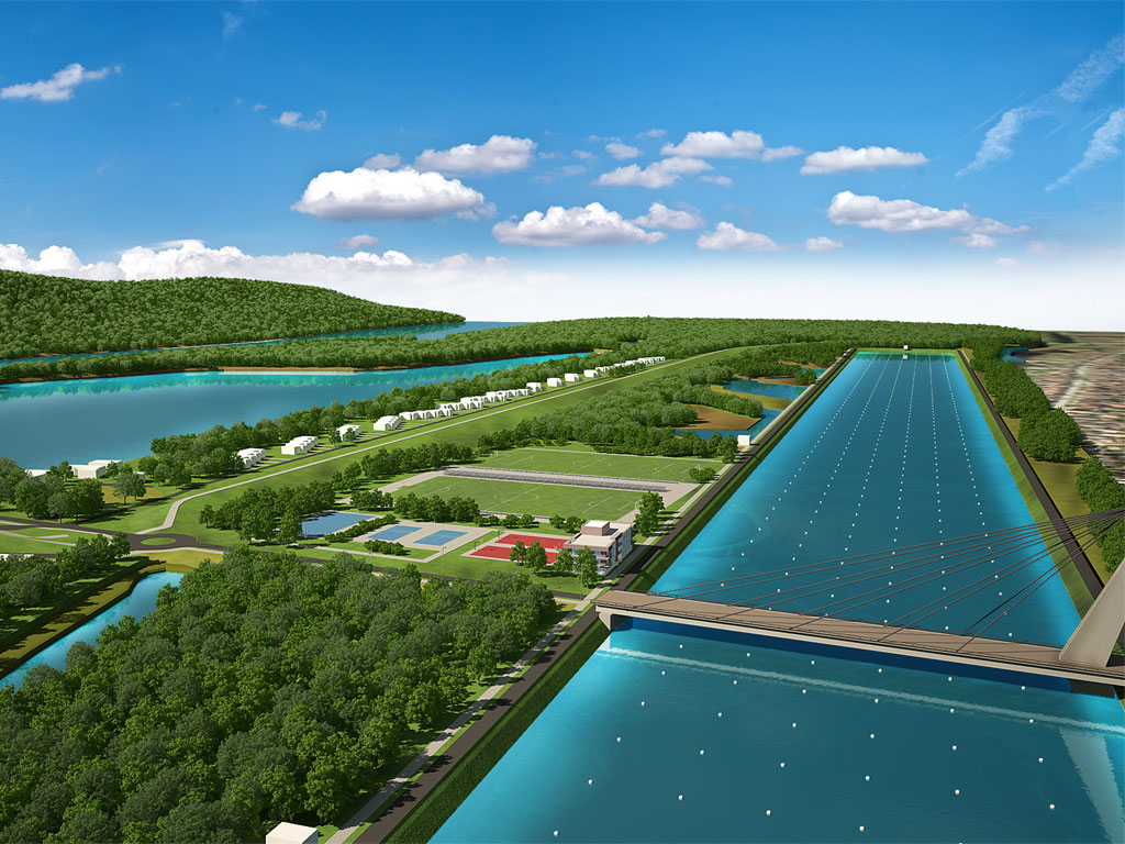 Privilege of river towns – Backa Palanka plans to build rowing course, marine, sports and recreation center, aqua park and hotels on Danube