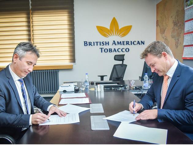 Kompanija BAT Srbija uručila računarsku opremu Vranju
