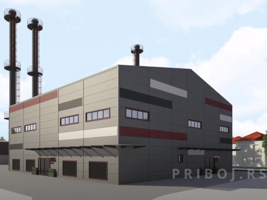 Potpisan ugovor sa izvođačem za zamenu podstanica u sistemu daljinskog grejanja u Priboju - Predstavljen i izgled nove toplane na biomasu (VIDEO)