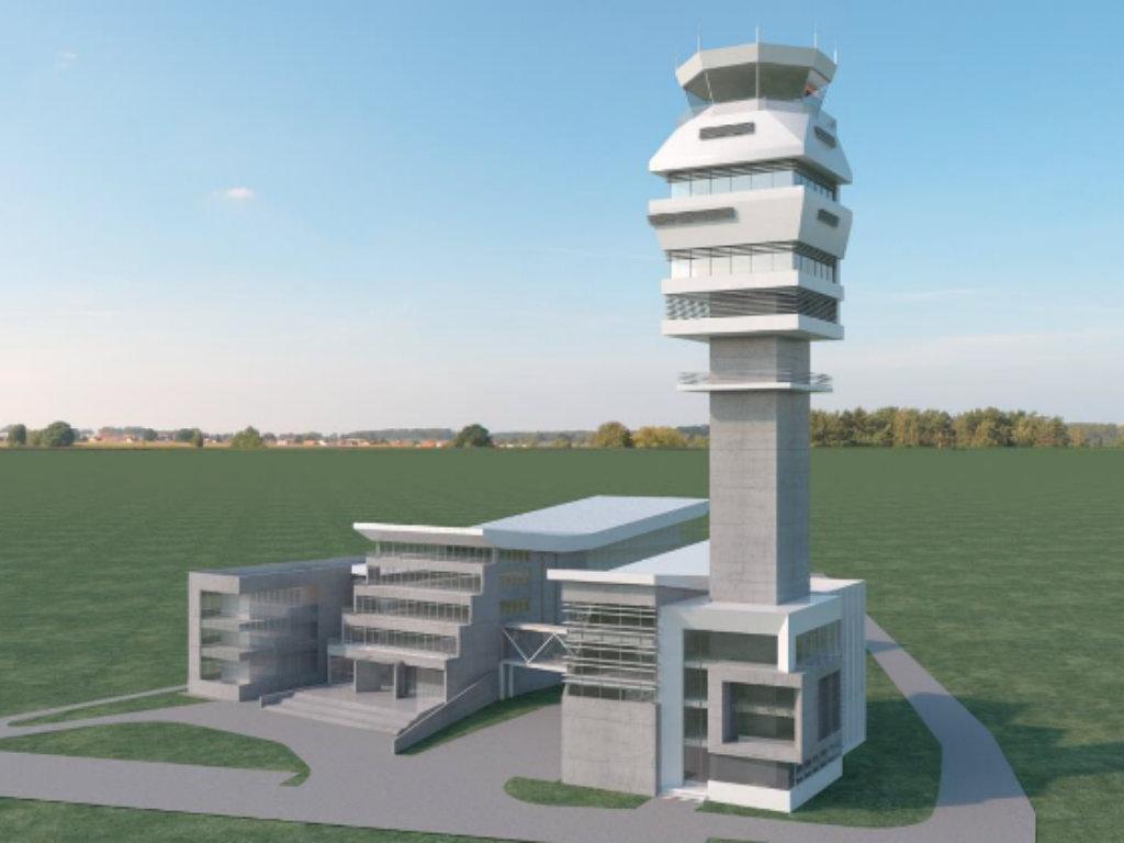 Wie der neuen Kontrollturm in Belgrad aussehen wird