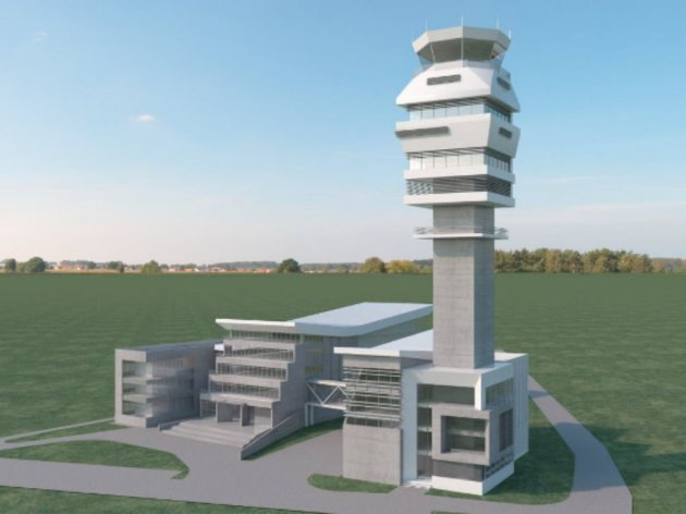 Future look of Control Tower in Belgrade