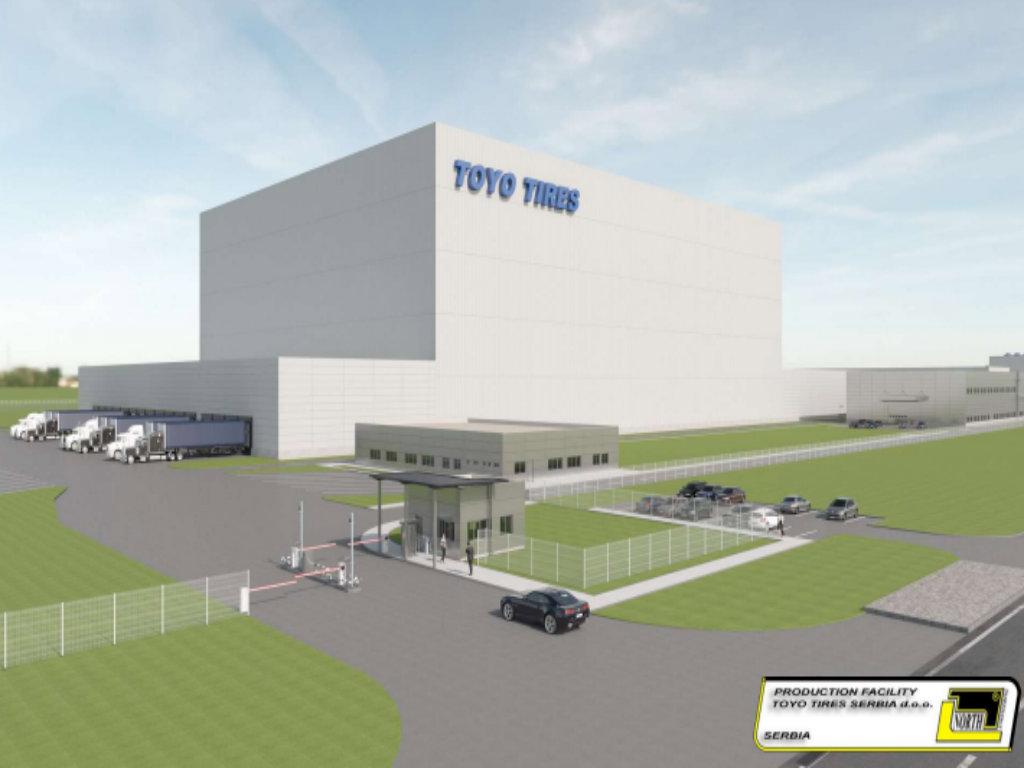 Ovako će izgledati fabrika Toyo Tires u Inđiji - U modernom kompleksu na 64 hektara proizvodiće se 5 miliona pneumatika godišnje (FOTO)