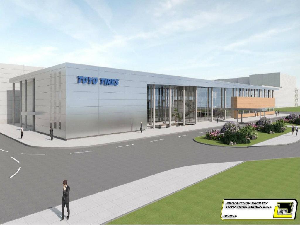 Početak gradnje fabrike guma Toyo Tires u Inđiji 15. decembra - Glavni izvođač japanska kompanija Takenaka