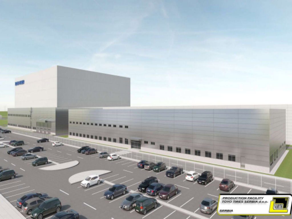 Gradnja fabrike Toyo Tires u Inđiji u skladu sa planiranim tempom