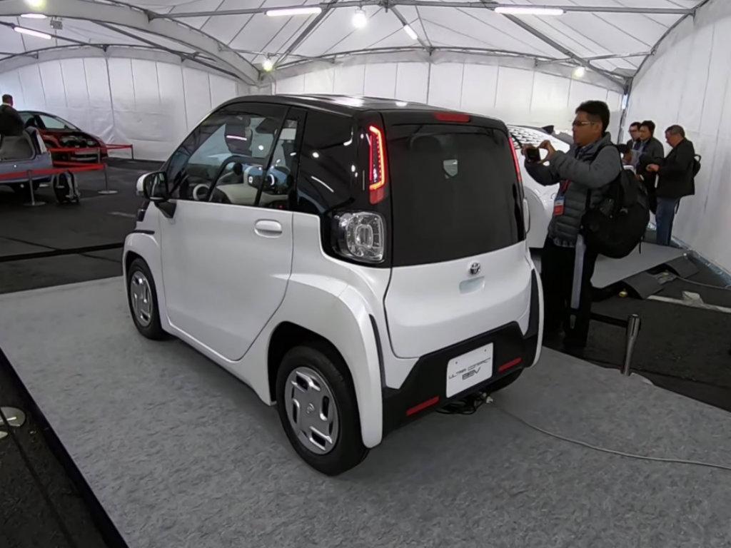 Toyota predstavila električno vozilo za kratke relacije - U prodaji od 2020.