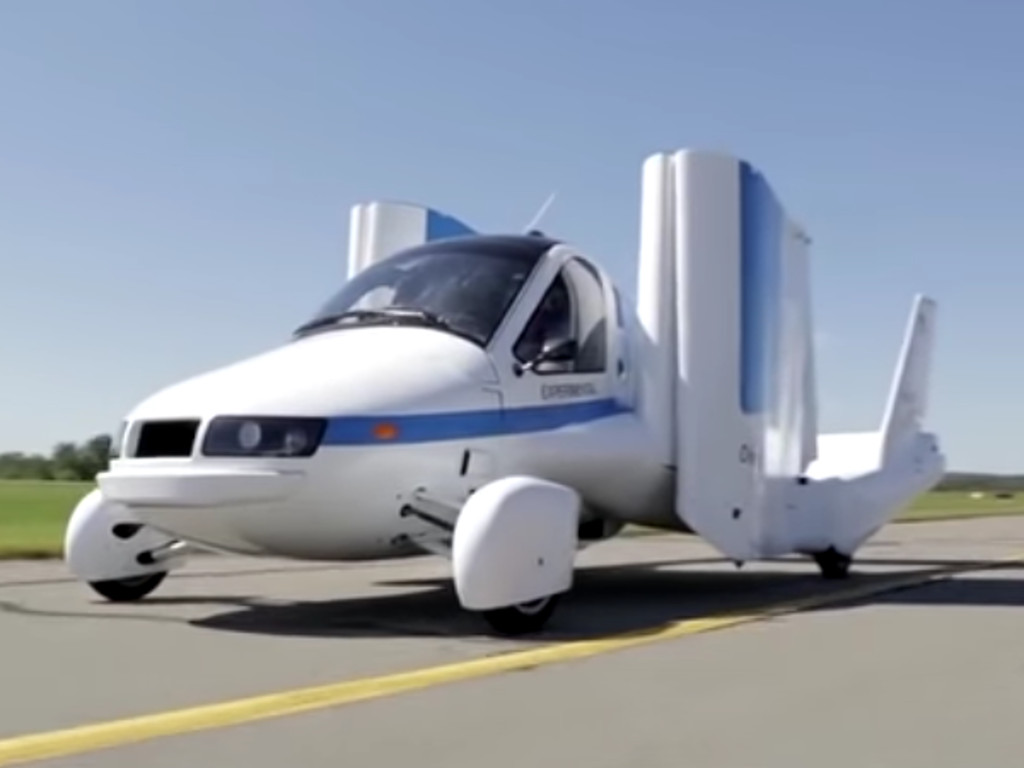 First flying car to be launched