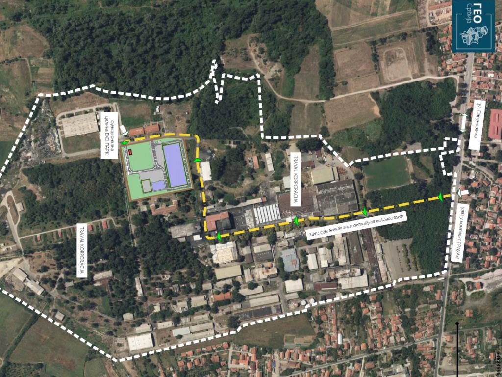 Trayal korporacija gradi Eko Park u Kruševcu - U okviru kompleksa fabrike niče postrojenje za tretiranje industrijskog otpada novim tehnologijama