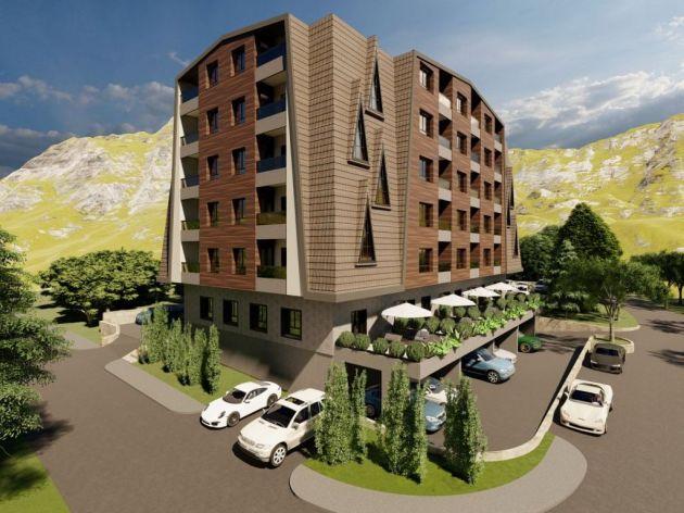 Pogledajte kako će izgledati Trebević Residence - Apartmanska zgrada gotova u avgustu 2022. (FOTO)