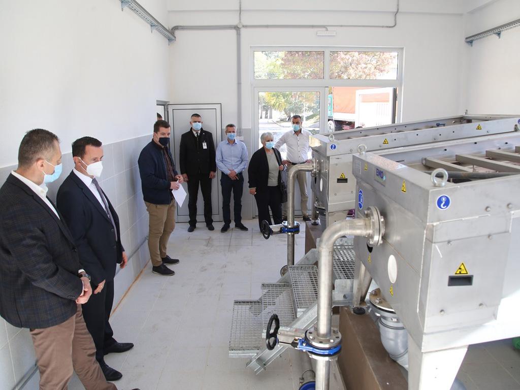U funkciji rekonstruisani prečistač otpadnih voda u Trebinju - Postrojenje u potpunosti automatizovano