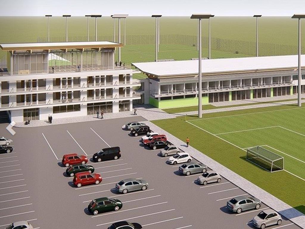 Zenica podržala proširenje fudbalskog trening centra - U planu još dva terena i novi smještajni kapaciteti (FOTO)