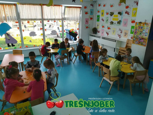 New Tresnjober kindergartens set to open in Belgrade by the end of 2018 - Preschool institution considers expanding throughout the country