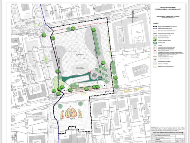 Arhitektonsko-urbanističko rješenje Trga Oslobođenja