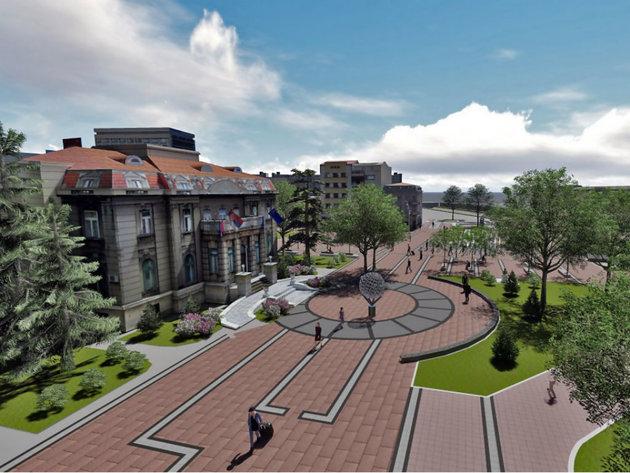Pogledajte kako će izgledati centralni gradski trg u Nišu - U planu širenje pešačke zone, fontana, uređenje mosta (FOTO)
