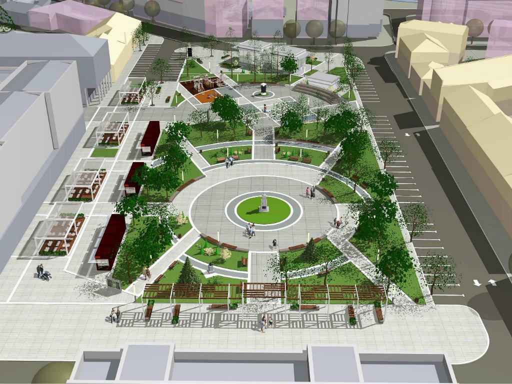 Kuršumlija do kraja 2019. dobija moderan gradski trg sa fontanom i amfiteatrom - Slede tenderi za drugu fazu izgradnje (FOTO)