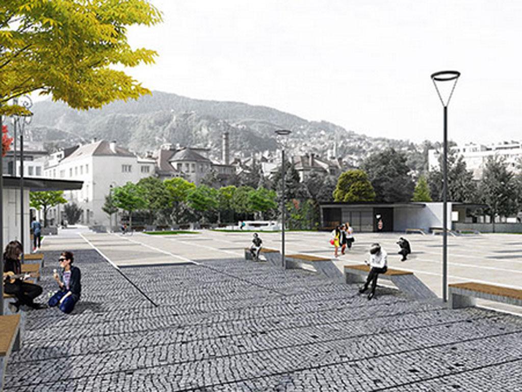 Za proljeće 2014. najavljeni radovi na gradnji podzemnih garaža i trga kod sarajevske Vijećnice - Vrijednost posla 5,7 mil KM