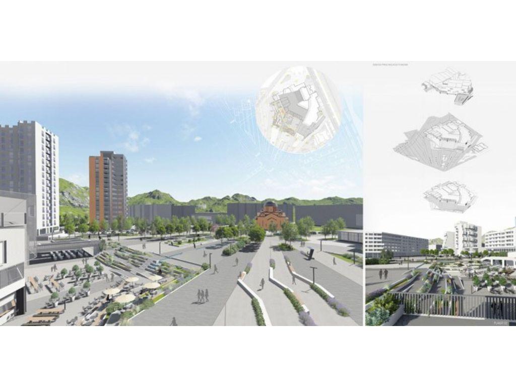 Odabrana najbolja rešenja gradskog trga u Priboju (FOTO)