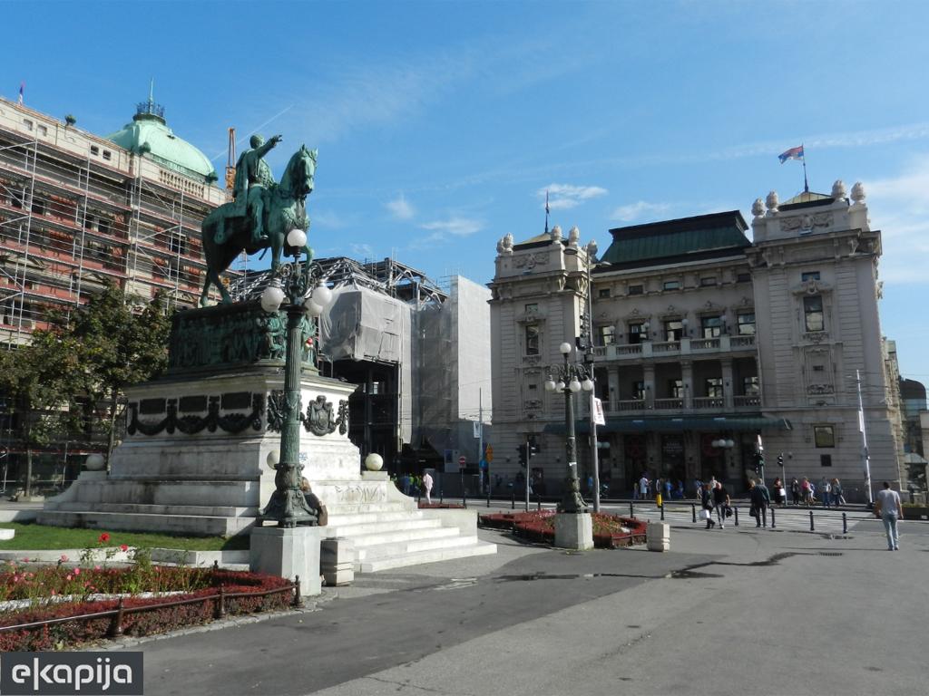 Radovi na Trgu republike biće gotovi do 1. septembra - Uskoro počinje uređenje fasada u centru Beograda i Zemuna