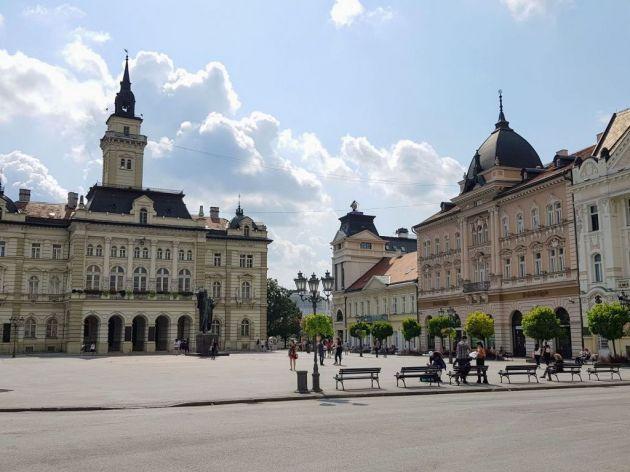 Centralni gradski Trg Galerija i još tri lokacije u Novom Sadu dobijaju novu formu - Raspisan međunarodni konkurs Nova mesta