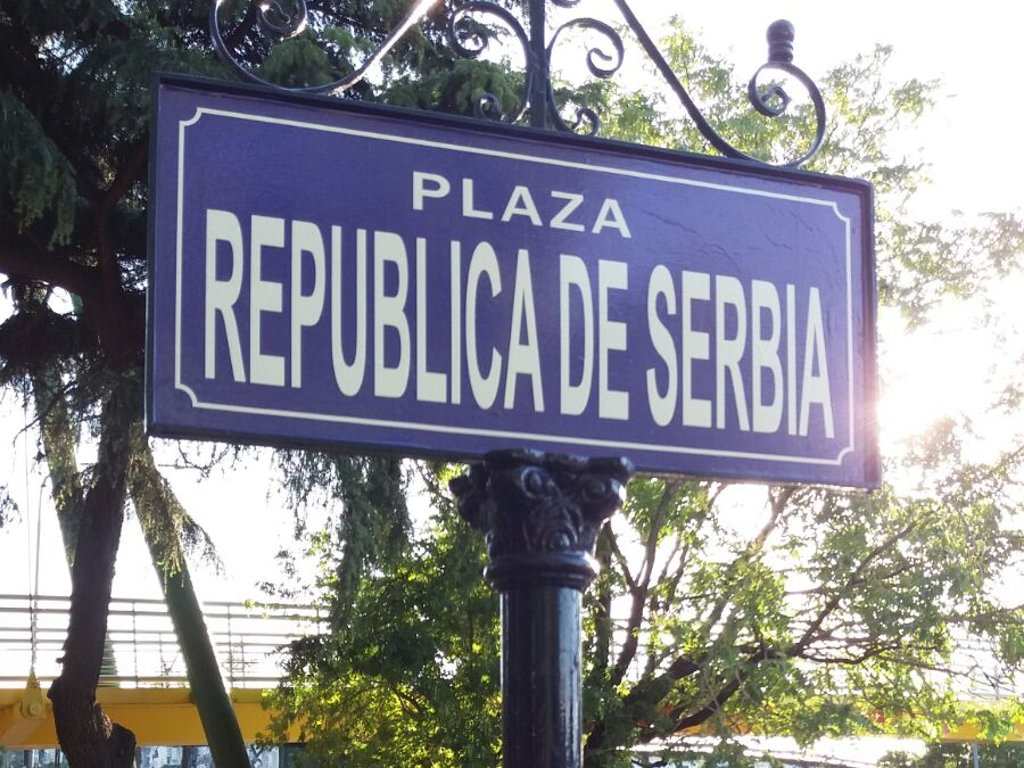 Buenos Aires gets the Square of the Republic of Serbia