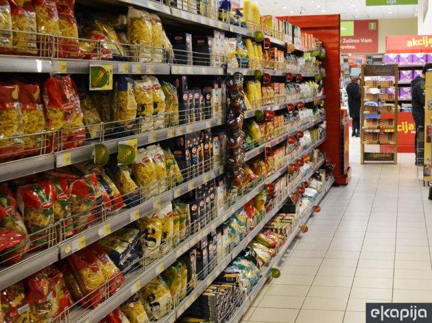 Rafovi prodavnica na severu Kosova puni srpskih proizvoda - Roba stiže alternativnim putevima