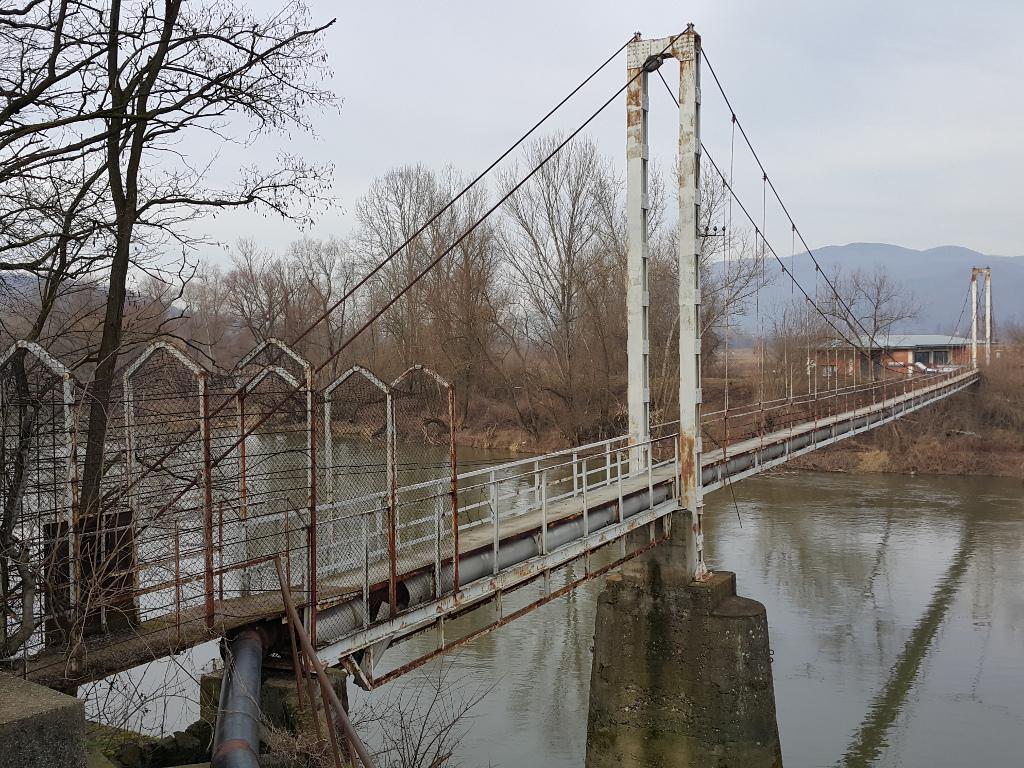 Raspisan tender za rekonstrukciju visećeg mosta u Trsteniku - Rok za ponude 29. septembar