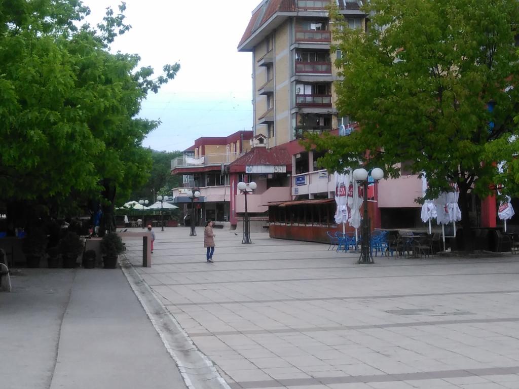 Rekonstrukcija u centru Trstenika - Uređuje se pešačka zona
