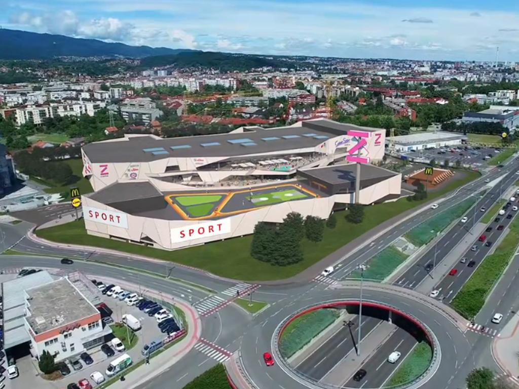 Evo kako će izgledati novi zagrebački šoping centar (VIDEO)