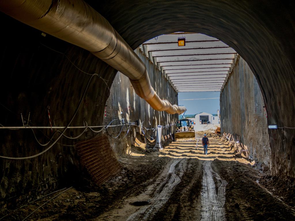 Završena polovina tunela Čortanovci na pruzi Stara Pazova-Novi Sad
