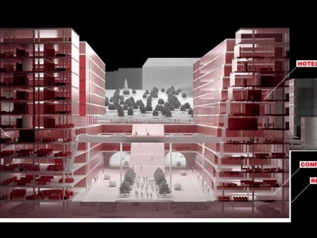 Kako u okviru projekta vide budući ulaz u tunel iz Ulice Gavrila Principa