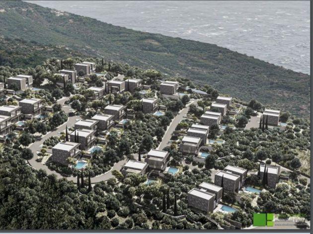 U Kotoru planirana gradnja još jednog luksuznog kompleksa - Turističko naselje Glavatičići imaće centralni objekat, tri paviljona i 37 vila (FOTO)