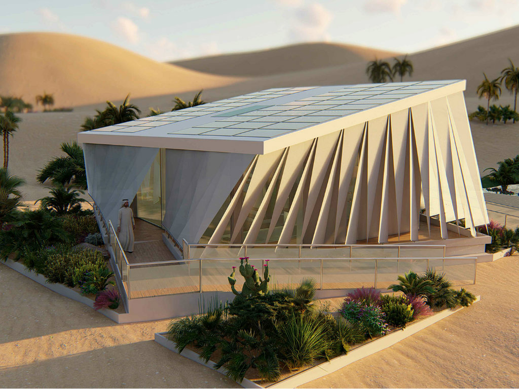 Belgrade students' invention in Emirates desert – Realization of project of sustainable houses depending on financial support in Serbia